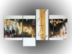 tableau, toile, art, abstrait, noir, doré, peinture,   www.mcdesign.fr www.facebook.fr/mcdesignart