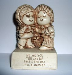 Vintage 1970s Couple in Love Paula Figurine by mish73 on Etsy, £3.00