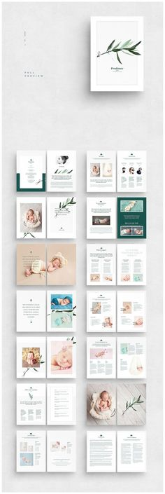 Newborn Photography Magazine by AlfianBrand™️ on @creativemarket #ideas #inspiration #creative #template #creativemarket #design #designideas #designinspiration #digital #magezine #brochure #photography
