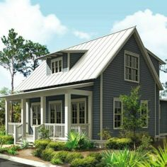 Plan 443-11: Cottage 1697 sq ft  cute