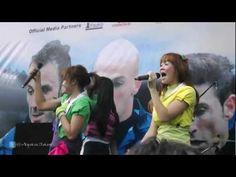 SuperGirlies - Hip Hip Hura @Senayan Inter Milan Indonesia Tour 2012  [FANCAM]