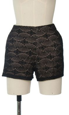 Trendy and Cute accessories - Ark & Co - Knitted Lace Shorts - chloelovescharlie.com | $43.00