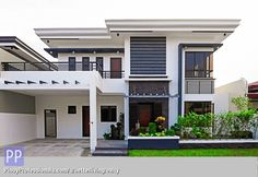 House and lot for Sale in BF Homes Paranaque City Type 2 storey Single detached . - House and lot for Sale in BF Homes Paranaque City Type 2 storey Single detached Status Brand new Re - Modern House Floor Plans, Modern Exterior House Designs, Best Modern House Design, Modern House Facades, Modern Architecture House, Modern Roof Design, Two Story House Design, 2 Storey House Design, Duplex House Design