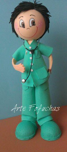 Fofucho médico. www.artefofuchas.com