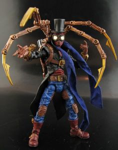 Steampunk Spiderman Custom Action Figure