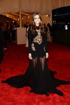 The Met Gala 2013: The Best of the Red Carpet - Allison Williams