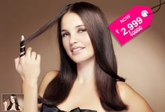 Rs.2999 instead of Rs.10,000 Make your hair straight sleek & shiny and look like you have just stepped out of a Fashion magazine from todays offer @ Glamour - Anna Nagar & Ayanavaram.