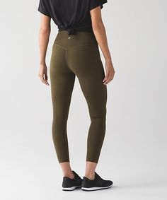 Align Crop - Military green, Darkest magenta, Deep indigo, or Slate Casual Leggings Outfit, Legging Outfits, Yoga Pants Outfit, Athletic Outfits, Athletic Wear, Athletic Clothes, Workout Wear, Workout Pants, Workout Outfits