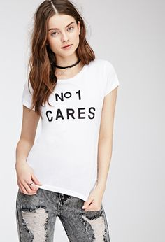 N° 1 Cares Graphic Tee   FOREVER21 - 2000079703