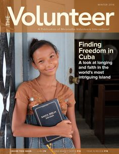 The Volunteer is the official publication of Maranatha Volunteers International.  Volunteering will change Your Life and the ones of others! Come and join us in Kenya! :)