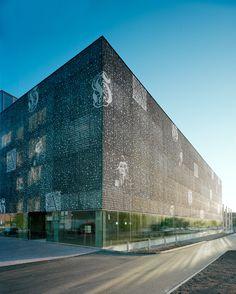 Hämeenlinna Provincial Archive  Finland, by Heikkinen-Komonen Architects 2009