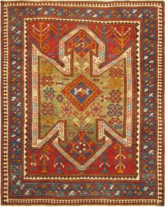 Circa 1890 Kazak. http://www.keivanwovenarts.com