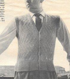 Tricot Gilet homme sans manche