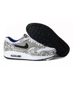 best service 18a9f d3fba Men s Nike Air Max 1 Shoes Gray Black Leopard Sale