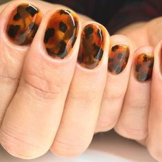 Do you want a cute nail design for your short natural nails? Tortoiseshell Nail … – # Do you want a cute nail design for your short natural nails? Short Natural Nails, Short Nails, Natural Nail Art, Ten Nails, Nailart, Uñas Fashion, Manicure E Pedicure, Mani Pedi, Nagel Gel
