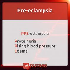Know the signs of pre-eclampsia. --- Visit http://qdnurses.com/qdmemes for your daily dose of nursing education! --- #nclex #nursing #nclextips #nclex_tips #nurse #nursingschool #nursing_school #nursingstudent #nursing_student