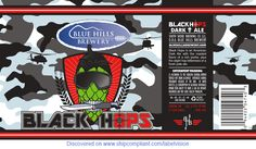 I found BLUE HILLS BREWERY BLACK HOPS on ShipCompliant.com/LabelVision
