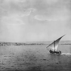 Entrance to the port of Thessaloniki , 1919 by Fred Boissonnas