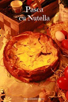 Pasca cu Nutella | Bibi`s Kitchen Nutella, Camembert Cheese, Kitchen, Desserts, Food, Tailgate Desserts, Cooking, Deserts, Kitchens