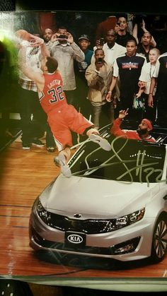Blake Griffin Signed Auto 11x14 Photo, COA, Slam Dunk Contest, Clippers