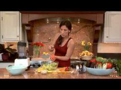 Aphrodisiac Salad: Raw food recipe.