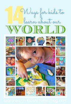 14 {Fun} Multicultural Education Activities for Kids to learn about the world