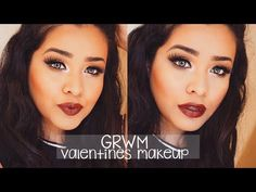 GRWM | Valentines Day Makeup ❤️ - YouTube