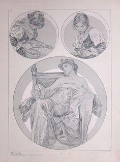 Alphonse Mucha   Documents Decoratifs.