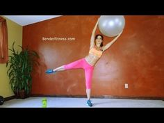 10 Minute Standing Workout: Abs, Thighs and Butt - YouTube