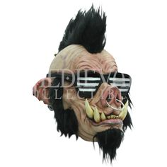 Boar Punk Mask - HS-26391 by Medieval Collectibles