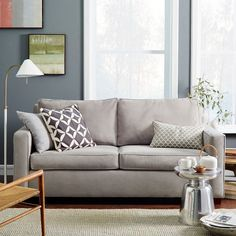 Sofas, West elm and Mink on Pinterest