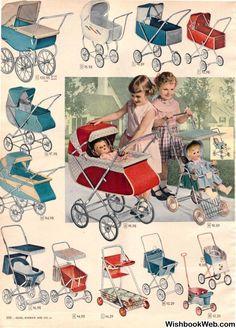 Vintage Pram, Vintage Love, Vintage Colors, Christmas Catalogs, Christmas Books, Vintage Christmas, Vintage Advertisements, Vintage Ads, Images Vintage
