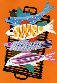 Blinds: Grilled Fish