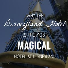 See all the reasons that makes the Disneyland Hotel the most magical hotel at Disneyland Disneyland Restaurants, Disneyland Resort Hotel, Disneyland Vacation, Disney World Resorts, Hotels And Resorts, Walt Disney World, Disney Aesthetic, Travel Aesthetic, Just Dream