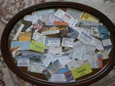 7 Cute Ways to #Display Old Concert Tickets ...