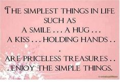 The Simple Things!