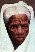 African American Art Art - Harriet Tubman, African-american by Photo Researchers