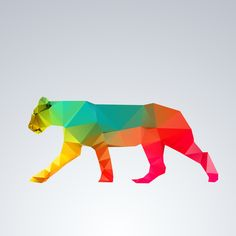 Glass Animal Series - Lioness Art Print