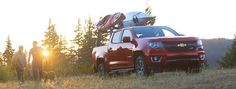 The Chevy Colorado makes it convenient to transport all your recreational…