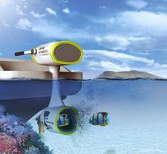 Air Booster motor de aire comprimido para barcos