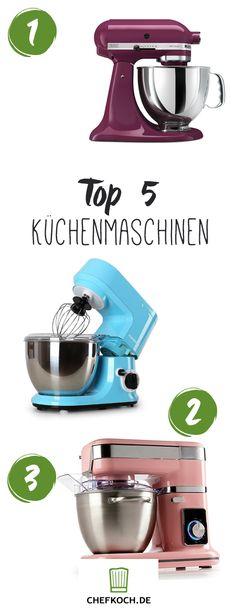 Fünf Küchenmaschinen zum Verschenken