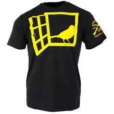 A yellow bird... with a yellow bill. You get it. We know you do: http://www.gruntstyle.com/index.php?route=product/product&keyword=yell&product_id=1368