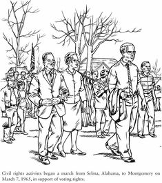 dover publications civil rights coloring book free sample pages