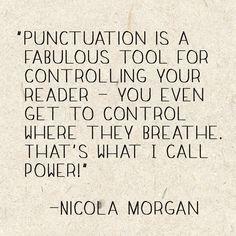 Nicola Morgan Quote