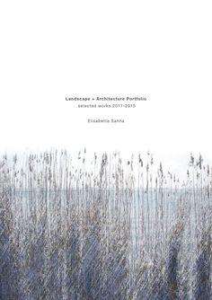 Landscape + Architecture Portfolio by Elisabetta Sanna
