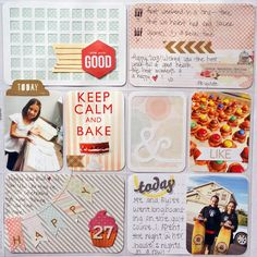 Project Life Week 1 pg2 - Scrapbook.com