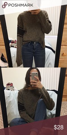 [Vintage] • COCOA Gorgeous knit sweater Urban Outfitters Sweaters