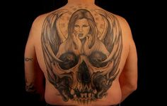 Steve Tefft& awesome winning tatto from Ink Master Season Two. Baby Tattoos, Time Tattoos, Tatoos, Chris Nunez Tattoos, Ink Master Tattoos, Tattoo Nightmares, Spike Tv, Famous Tattoos, Epic Tattoo