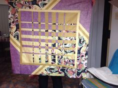 Convergence quilt put together this week.