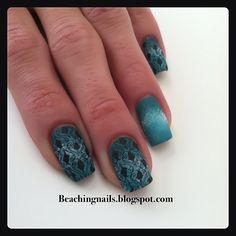 Nail Art# Matte finish